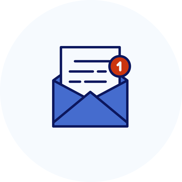 EMail notifications Apomeds